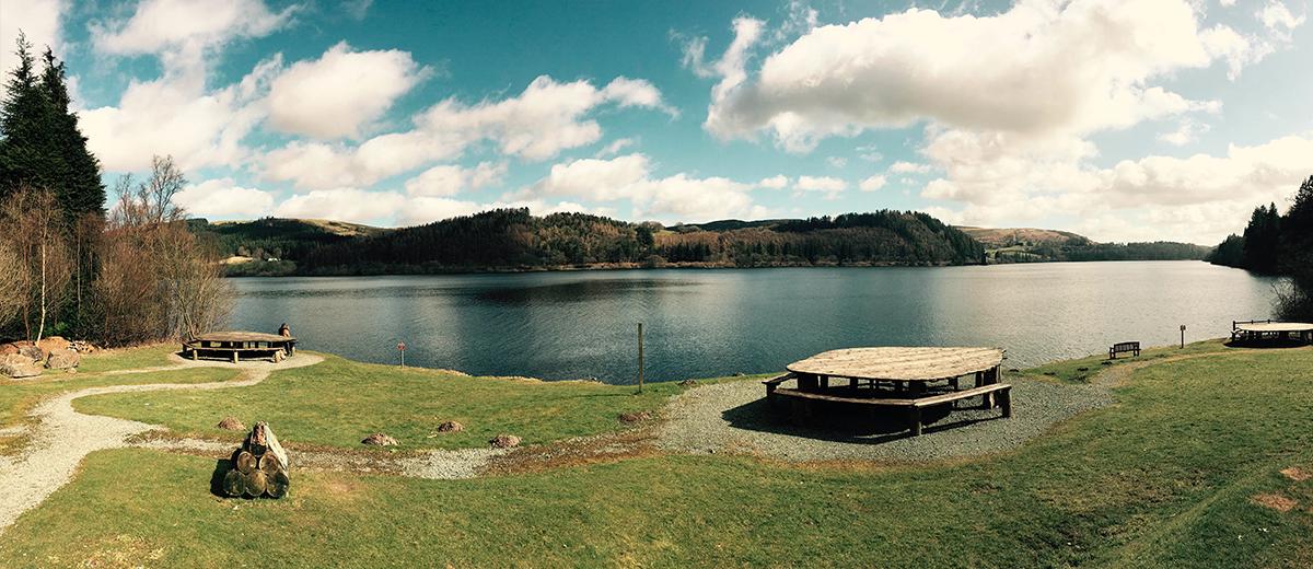 Picnic Spot - Lake Vyrnwy