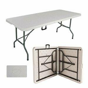 Janoon 6FT HEAVY DUTY 1.8 METER FOLDING Trestle Table