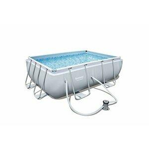Bestway Power Steel Rectangular Swimming Pool