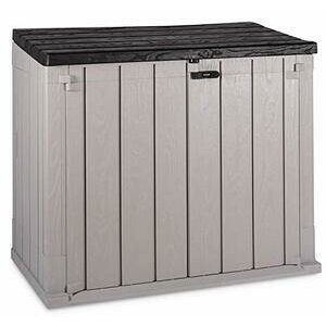 TOOMAX Storaway Outdoor Garden Plastic Storage Shed - Grey (842L)