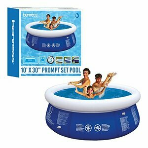 Benross 84880 10ft Round Inflatable Quick Set Swimming Pool (Blue)