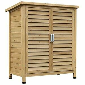 Outsunny 2 Door Garden Storage Shed