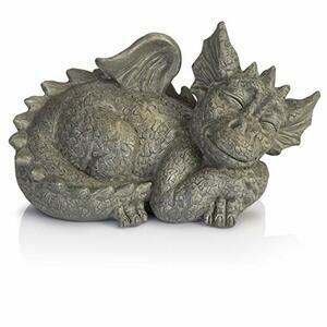 Besti Sleeping Dragon Garden Sculpture (Small)