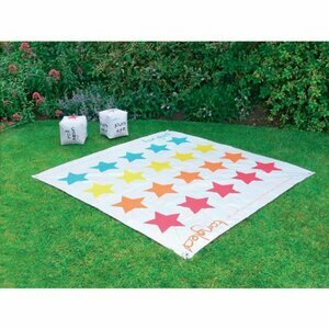 Garden Twister with Inflatable Dice
