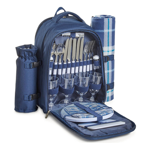 VonShef 4 Person Picnic Backpack
