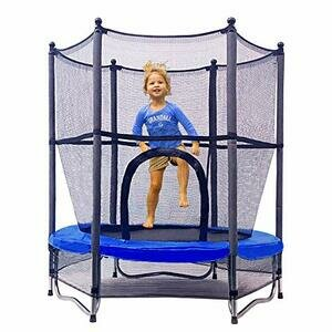 Jumptastic Trampoline for Kids 55'' Mini Trampoline with Net