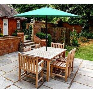 GlamHaus Garden Parasol Table Umbrella