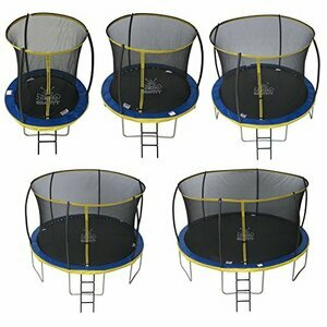ZERO GRAVITY Ultima 4 High Spec Trampoline with Safety Enclosure Netting and Ladder (12ft)