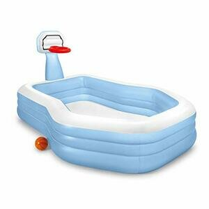 Intex Shootin' Hoops Swim Centre Family Pool, for Ages 3+