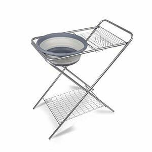 Kampa Washing Up Camping Stand with Collapsible Bowl