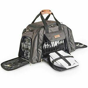 VonShef Ash 6 Person Picnic Holdall Bag