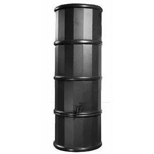 Polytank Black Space Saving Water Butt 110L Litres