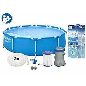 Bestway Steel Pro Swimming Pool Set, 6473 liters, Blue