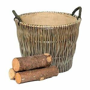 Wrenbury Antique Willow Round Log Basket