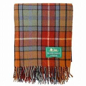 The Scotland Kilt Company Wool Tartan Scottish Rug - Large
