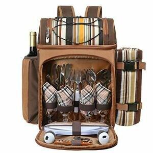 Hap Tim Picnic Backpack Cooler for 4
