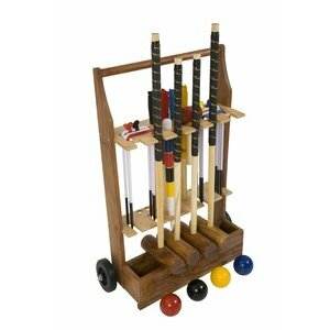 Lawn Croquet Trolley