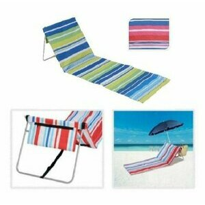 Pink and Blue Gifts Portable Beach Lounger
