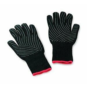Weber Premium Gloves, Size L/XL, black, heat resistant
