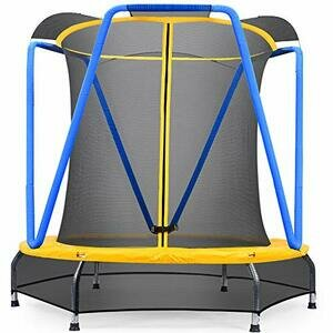 Zupapa 54 inch 4.5FT Small Trampoline for Kids