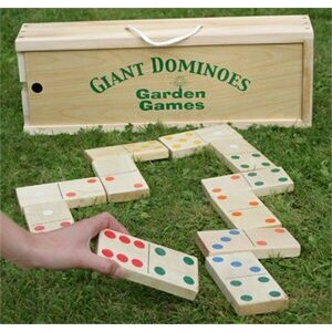 Giant Garden Domino Set
