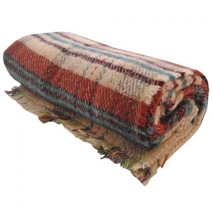 All Wool Tartan Picnic Rug