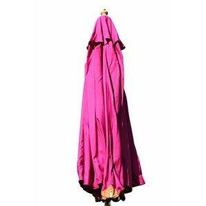 Hardwood Garden 3 metre wide parasol (Pink)