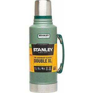 Stanley Stainless Steel-Double-Wall Water Bottle, Green, 1.9L