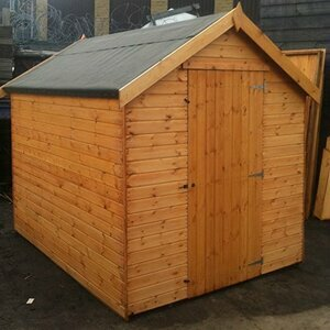 Pinelap 7x5 Fully T&G 12mm Garden Shed - Dip Treated