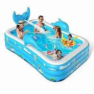 VOXON Inflatable Swimming/Padding Pool Swim for Kids