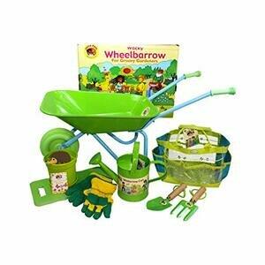 Little Pals Childrens Wheelbarrow & Gardening Tool Set