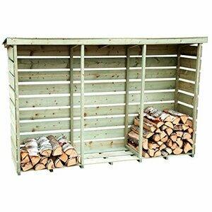 Charles Bentley FSC Nordic Spruce 3 Log Store
