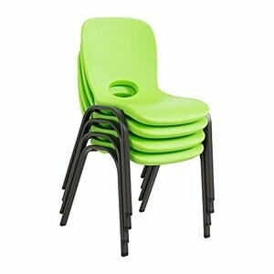 Lifetime 80473 4x Children Chairs - Lime Green