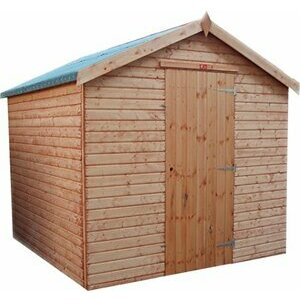 Pinelap 8x6 quality fully T&G wooden garden shed