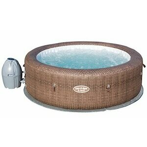 Lay-Z-Spa St Moritz Hot Tub, Airjet Inflatable Spa, 5-7 People
