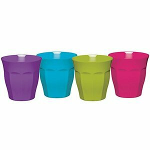 4x Colourworks 225ml Melamine Tumblers