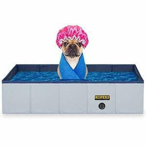 KOPEKS Outdoor Rectangular Swimming Pool For Dogs