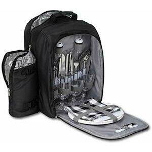 BRUBAKER 4 Person Picnic Backpack/Rucksack