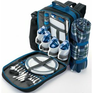 Draper Backpack Picnic Set for Four People