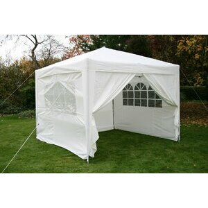 White Airwave Garden Gazebo