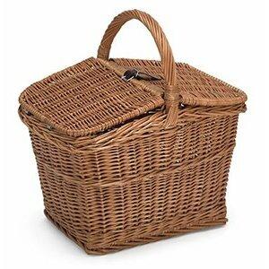 Prestige Wicker Empty Picnic Basket (Willow)