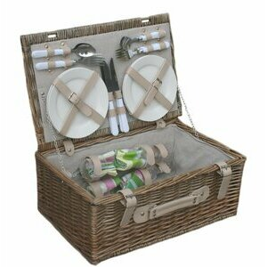 Willow Direct Spring Picnic Basket for Four