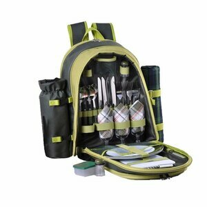 Confidence Green Picnic Backpack