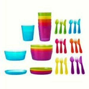 Children's Plastic Dinner Set