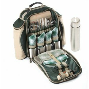Super Luxury Picnic Backpack for Four People