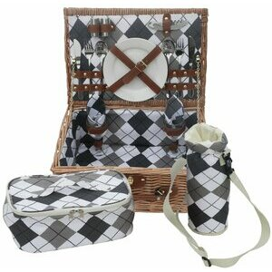 Andrew James Picnic Basket for Two