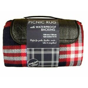 Luxury Red Picnic Rug