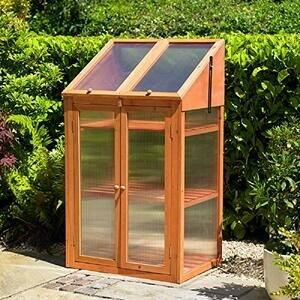 Kingfisher GHWOOD Wooden Greenhouse