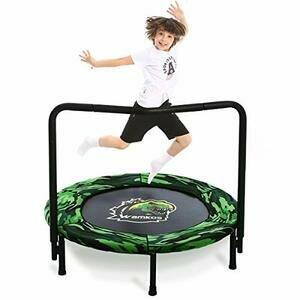 2021 Upgraded Dinosaur Mini Trampoline for Kids