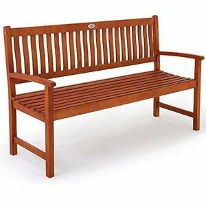 Deuba 2 to 3 Seater Wooden Garden Bench